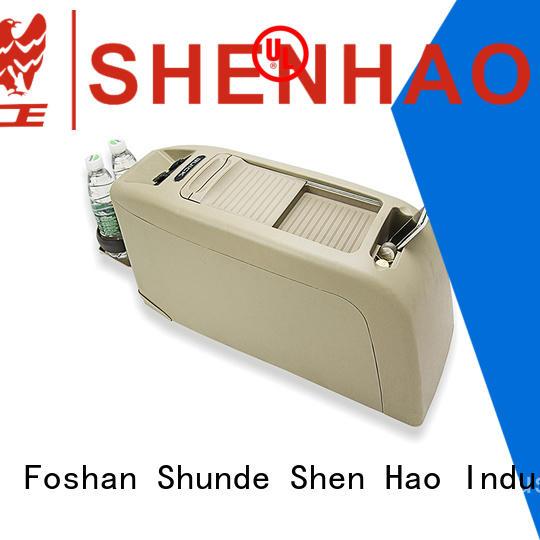 ShenHao foldable armrest console box manufacturers for Honda Elysion