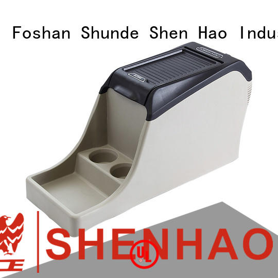 ShenHao light center console box with light for car