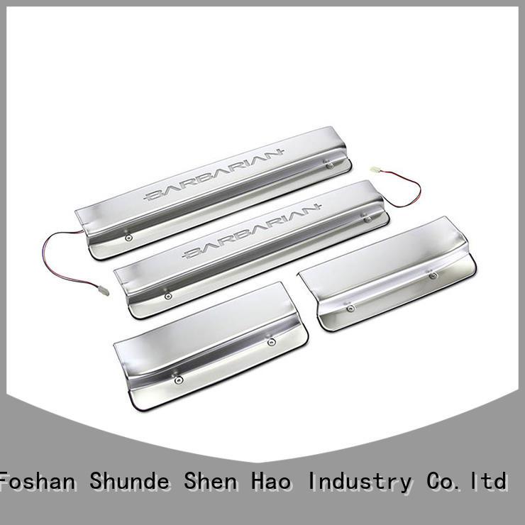 ShenHao gl8 car door step guard factory for car