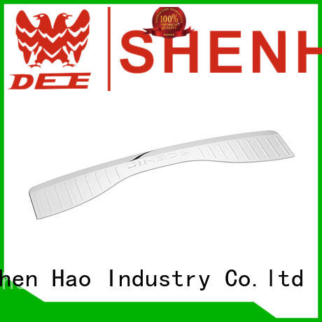 ShenHao high quality rear bumper guard stainless steel for Mazda