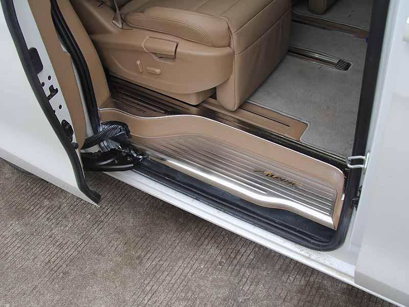 New door sill guard mitsubishi factory for van-5
