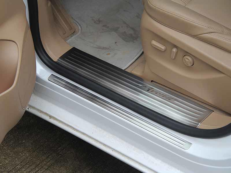 ShenHao elegant auto door sill guards For Buick for van