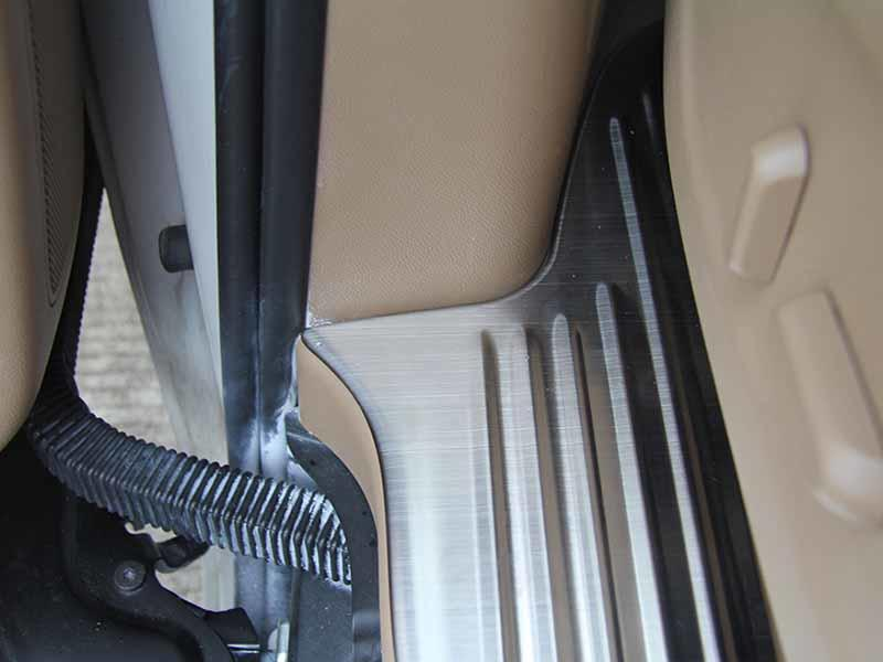 ShenHao customized led door sill with led light for truck
