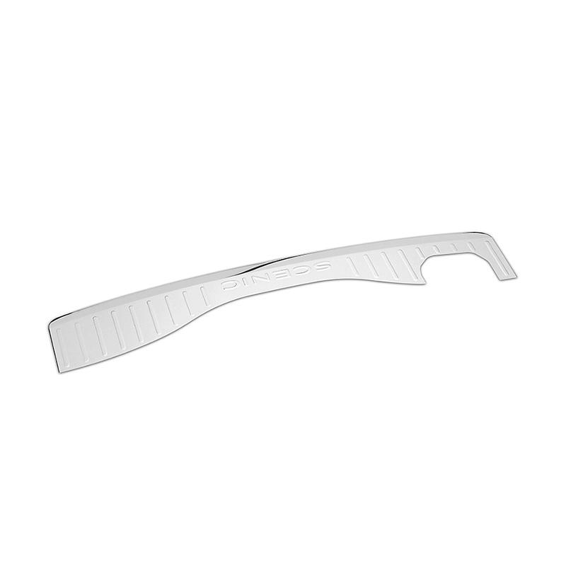 ShenHao item stainless steel rear bumper protector Supply for Mazda