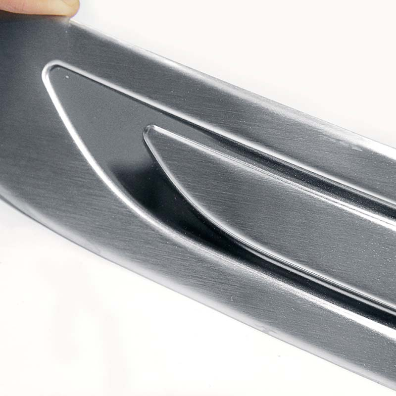 polished bumper protector design for Toyota-2