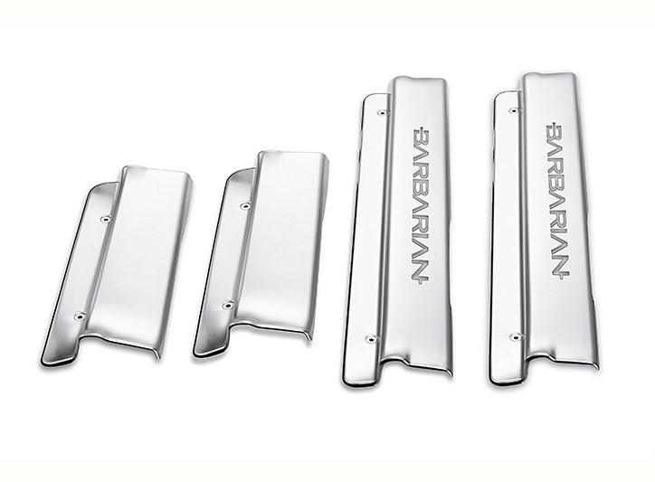 Mitsubishi Motors——L200 LED Stainless Steel Door Sill