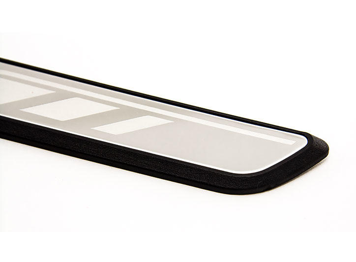 Peugeot Citroen——LED Stainless Steel Door Sill and car pedal for 408