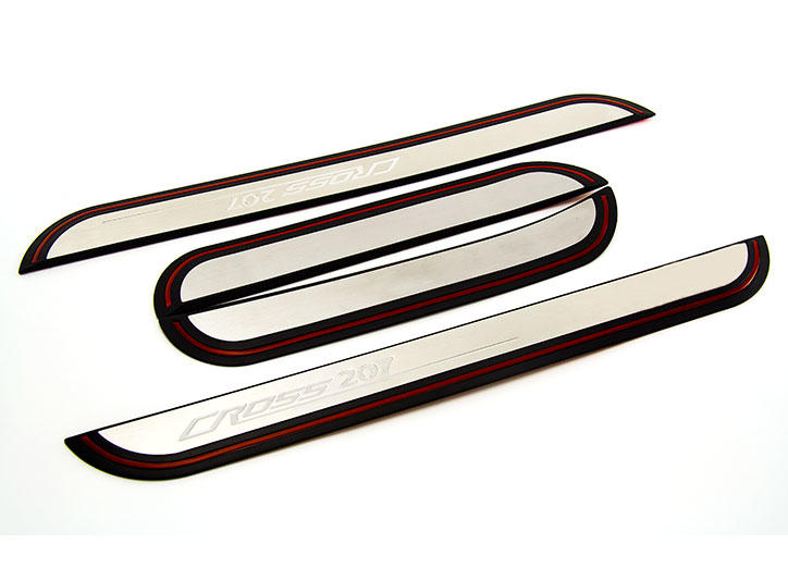 Peugeot Citroen——LED Stainless Steel Door Sill and car pedal for207