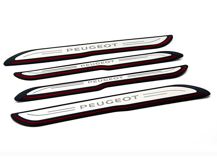 Peugeot Citroen——LED Stainless Steel Door Sill and car pedal for 3008