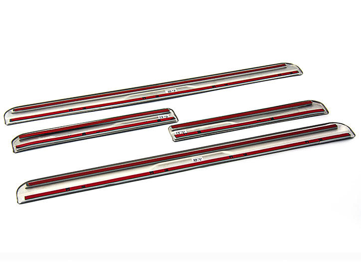 Peugeot Citroen——LED Stainless Steel Door Sill and car pedal for 301