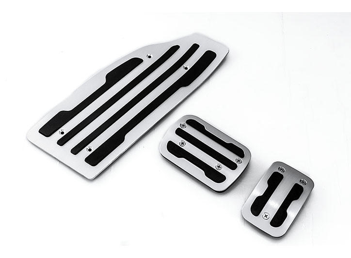 Peugeot Citroen——LED Stainless Steel Door Sill and car pedal for   Foot pedal F252