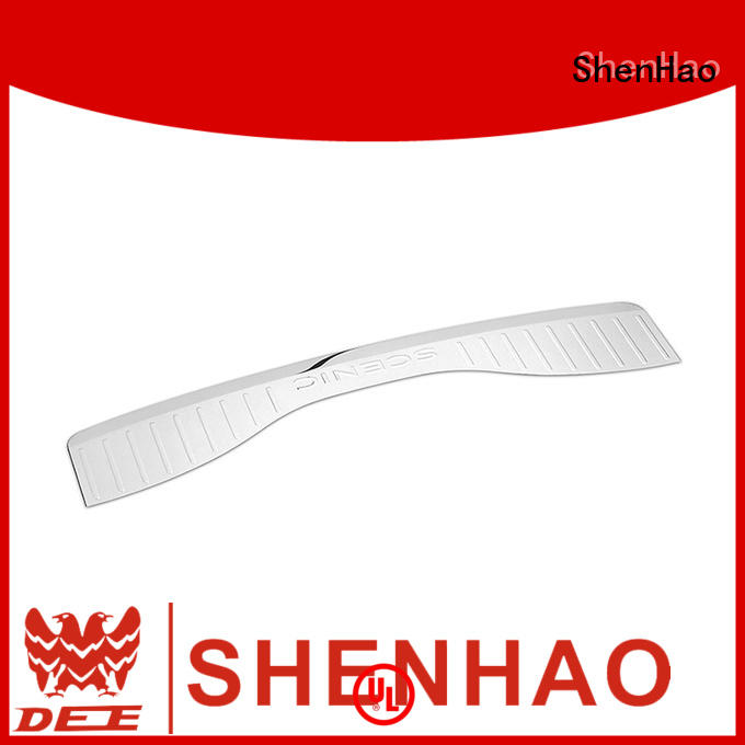 ShenHao polished car rear bumper protector for Renault