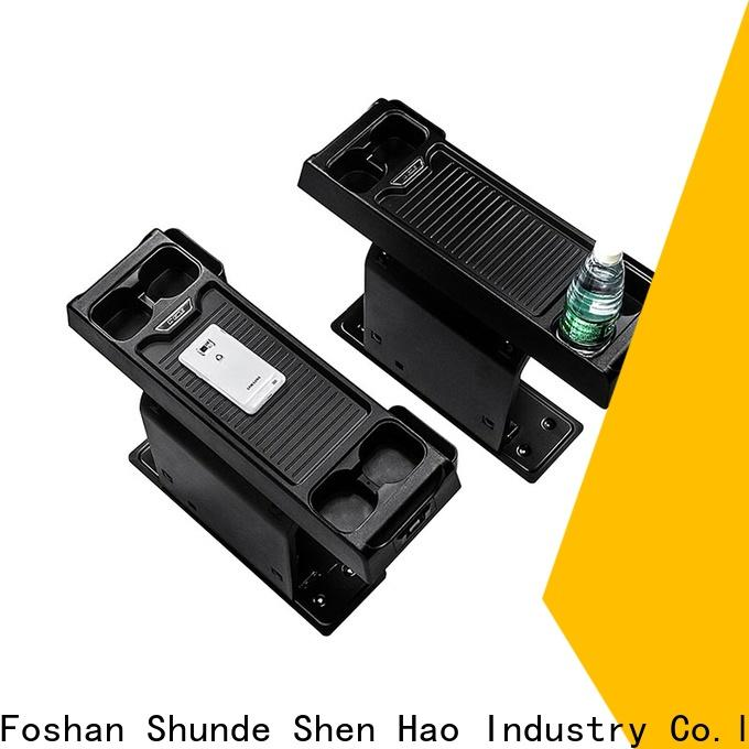 ShenHao usb center console storage box manufacturers for vehicle