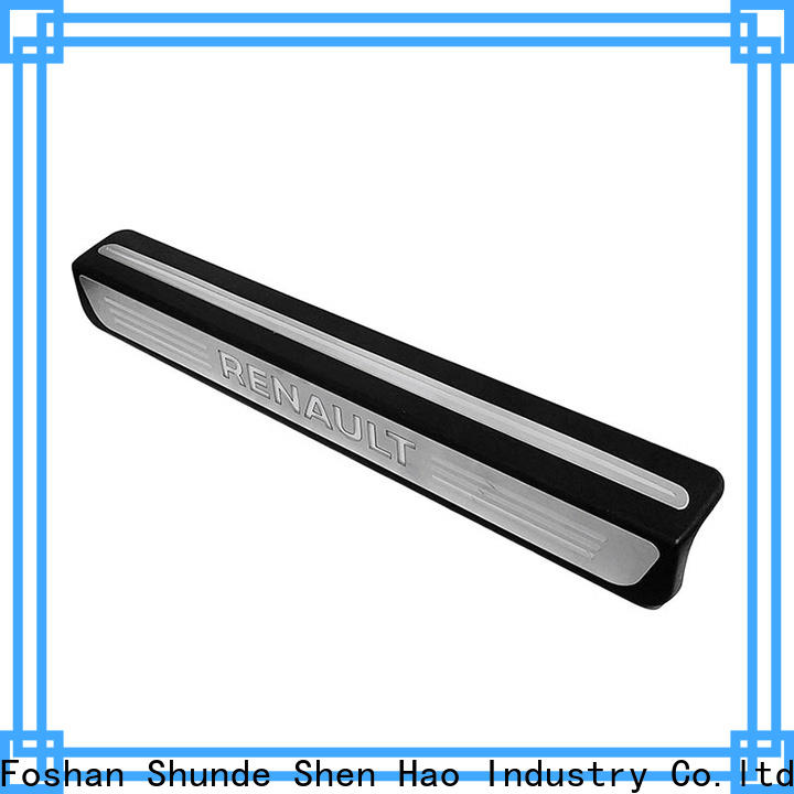 ShenHao Wholesale car door sill scuff plates company For Renault