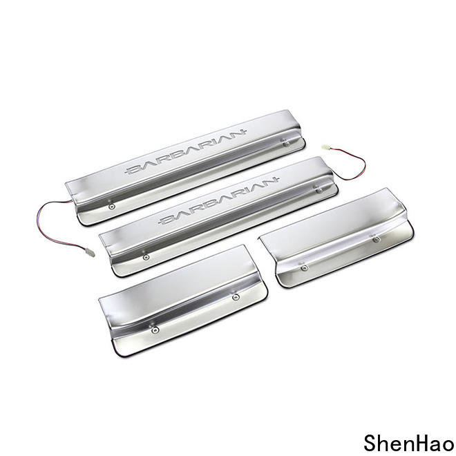 ShenHao l200 car door sill scuff plates for car