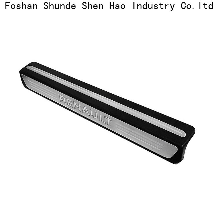 Wholesale stainless steel car door sills guards for business For Buick