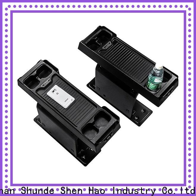ShenHao storagearmrestbox center console organizer manufacturers for MPV