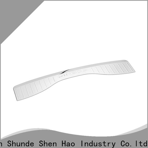 ShenHao polished rear bumper trunk protection company for Renault