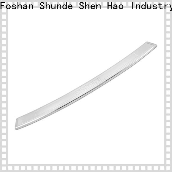 ShenHao polished bumper protector for Renault