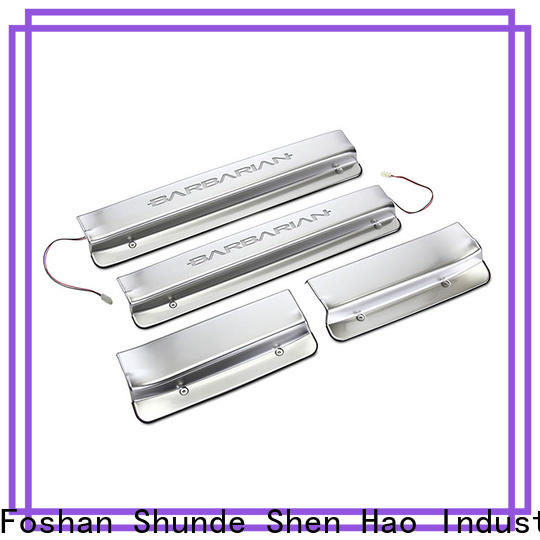 ShenHao products door sill scuff plate guards Supply for Mitsubishi