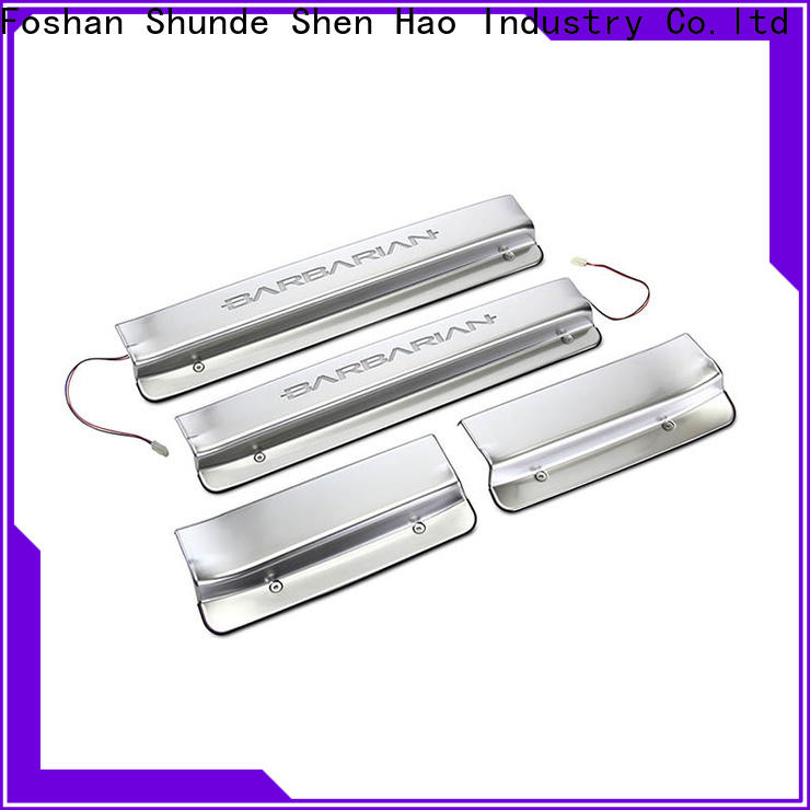 ShenHao oem stainless steel door sills Suppliers For Buick