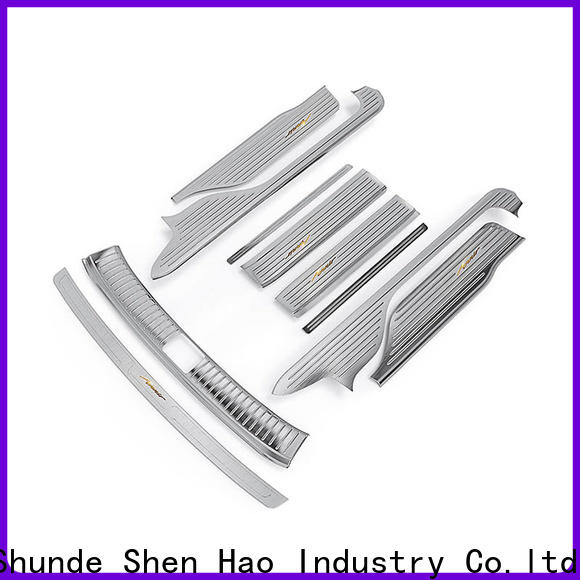 ShenHao elegant auto door sill guards for SUV