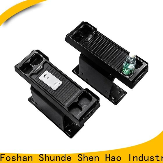 ShenHao strorage Armrest Box Suppliers for Swagon