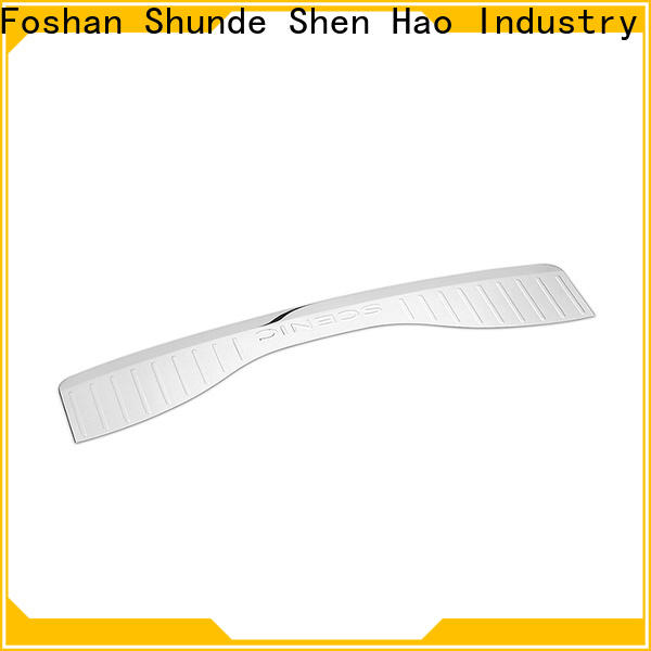 Top rear bumper guard guards for business for Renault