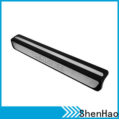 ShenHao with led light stainless steel door sill plates company for Buick