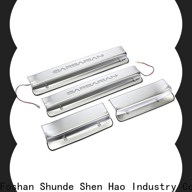 ShenHao door led door sill plates Suppliers for car