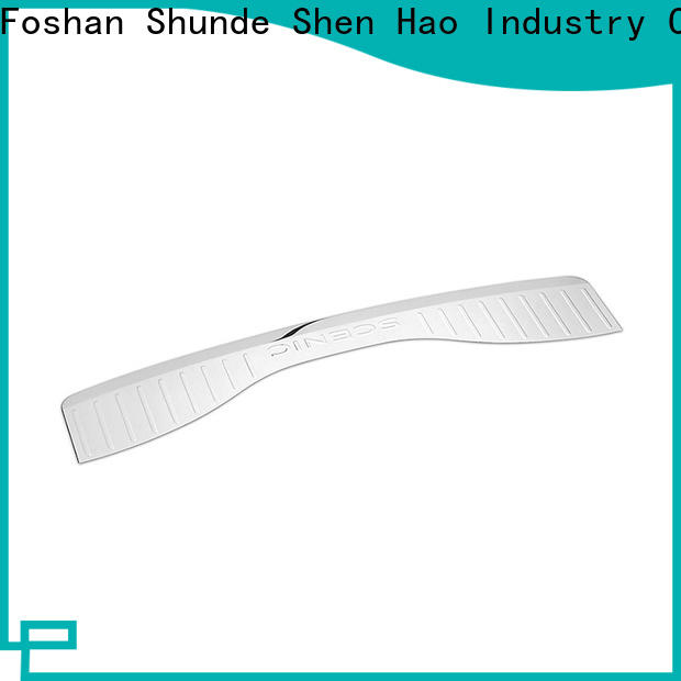 ShenHao polished auto rear bumper guards for bus