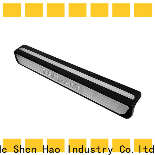 ShenHao customized stainless steel car door sills company for van