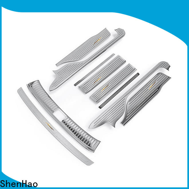 ShenHao New door sill scuff plate company for SUV