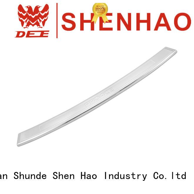 ShenHao polished auto rear bumper protector mazda for Mazda