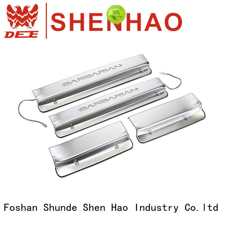 ShenHao elegant door scuff plate for Mitsubishi for car