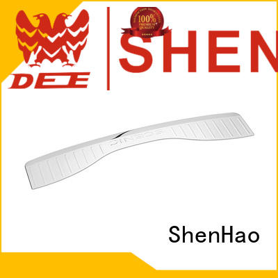 ShenHao customized rear bumper scuff plate factory for vehicle