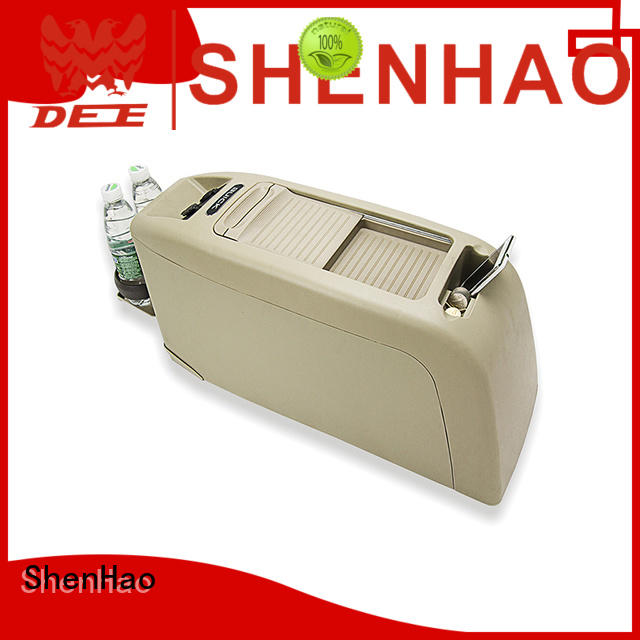 ShenHao honda center console box with light for SUV