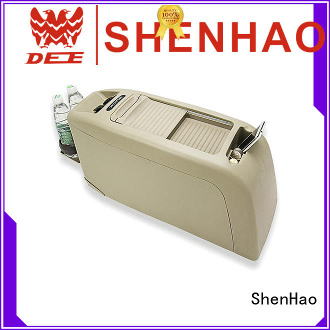 ShenHao durable universal car center console with light for van