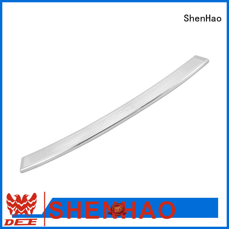polished rear bumper guards polished supply for Mazda