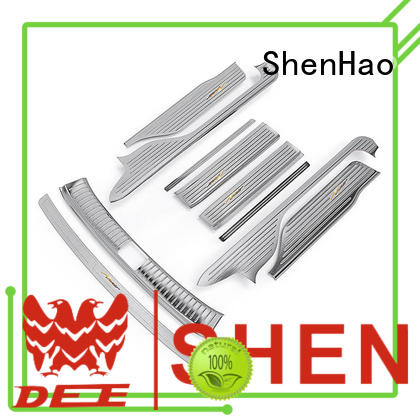 ShenHao special door sill scuff plate manufacturers for vehicle