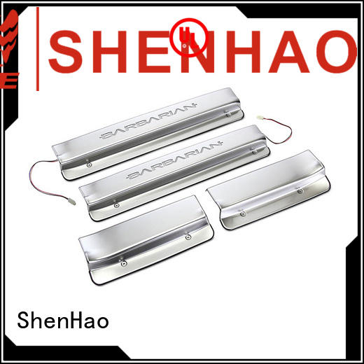 ShenHao led door sill scuff company for car