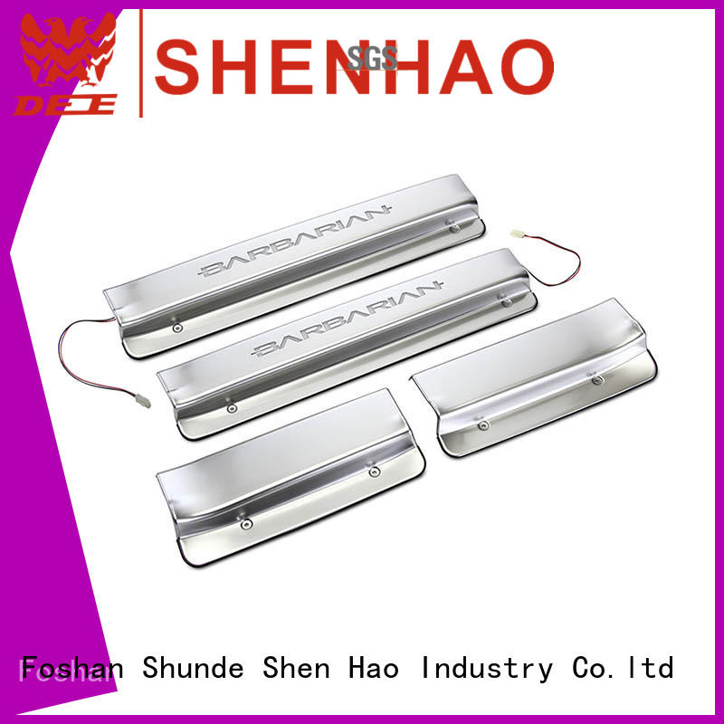 ShenHao led car door sill factory for Buick