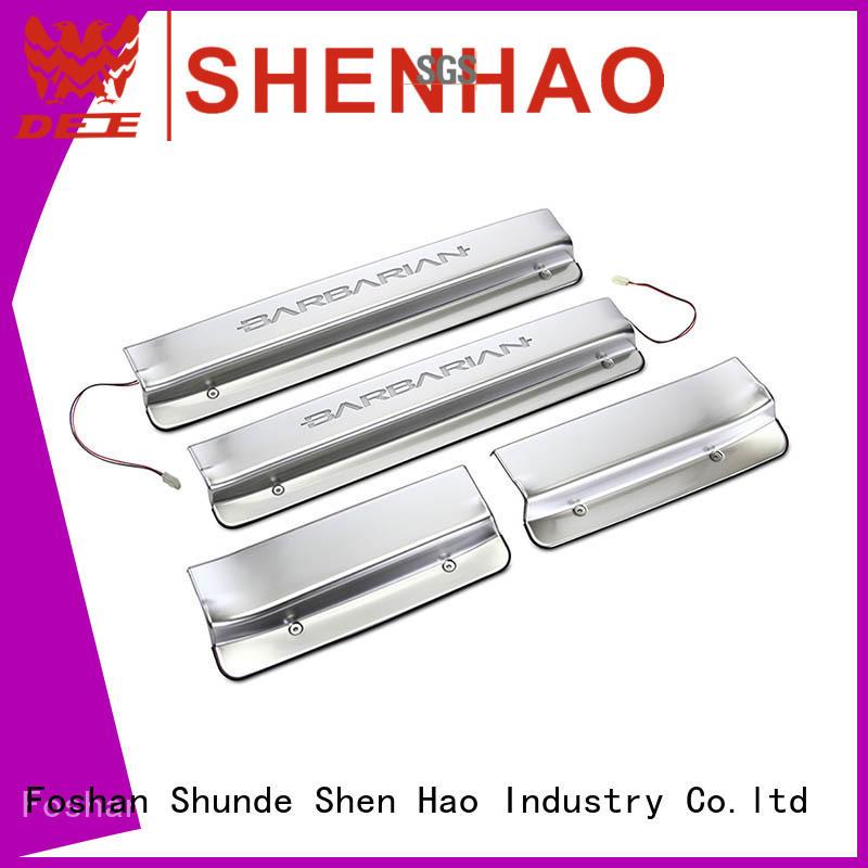 ShenHao led car door sill factory for Buick