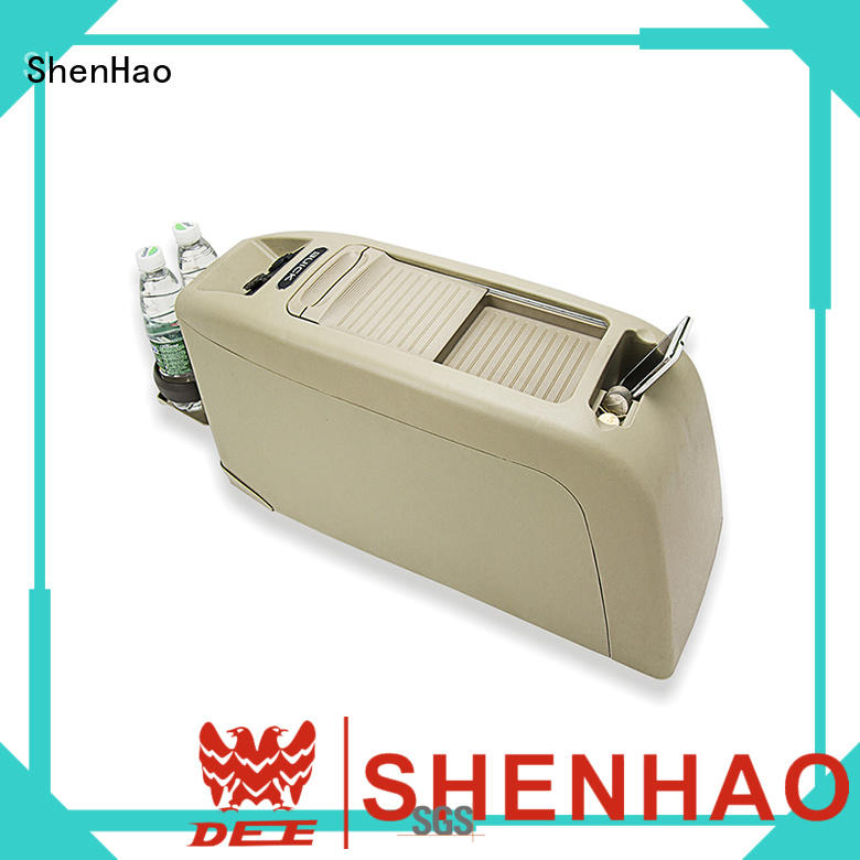 ShenHao multi function center console organizer led car
