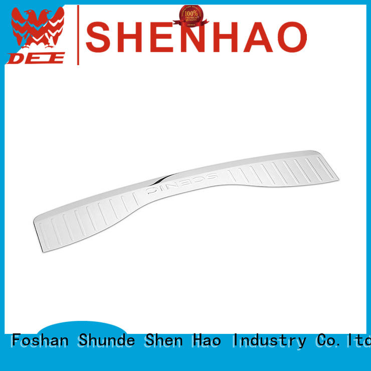 ShenHao cx5 rear bumper protector guard manufacturers for bus