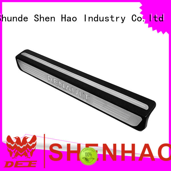 ShenHao led door sill guard factory for SUV