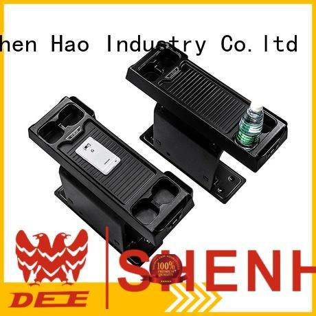 ShenHao Latest center console storage factory for MPV
