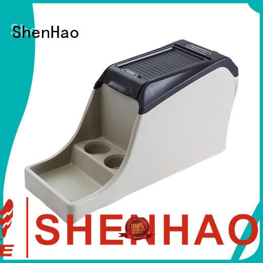 ShenHao foldable car console organizer with light for Honda Elysion