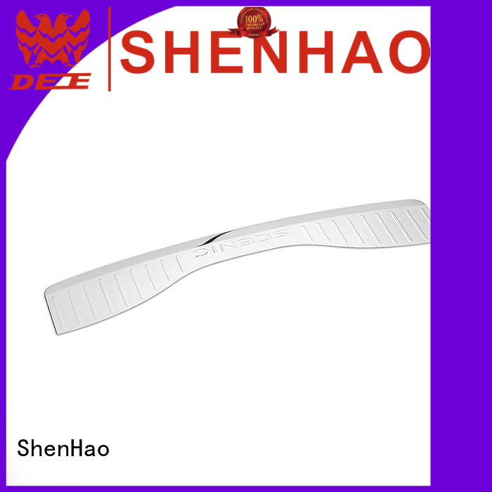 ShenHao Latest rear bumper protection plate for Mazda