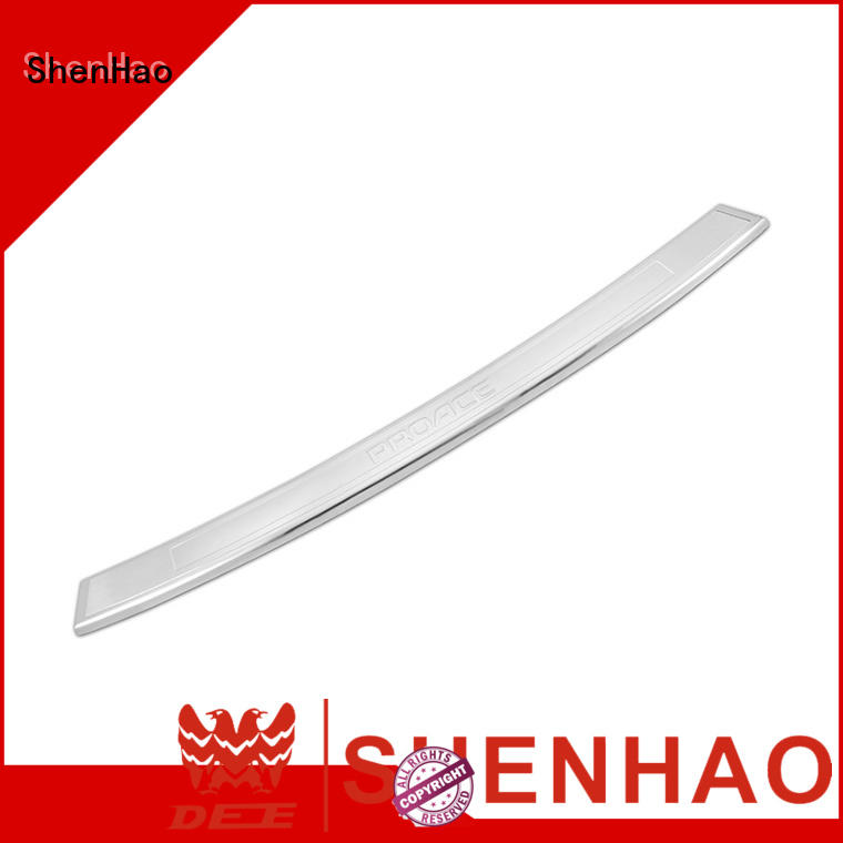 customer rear bumper top protector for Toyota for bus ShenHao